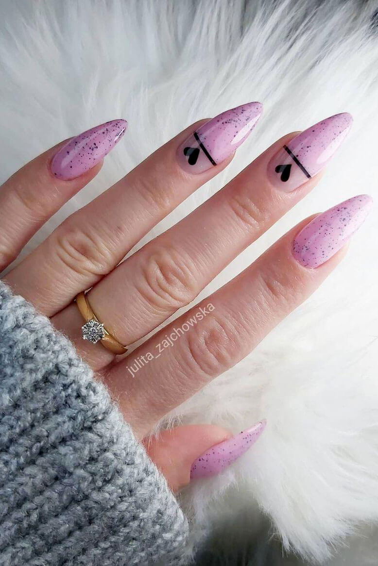 30+Pink Nails Trends For Spring 2021