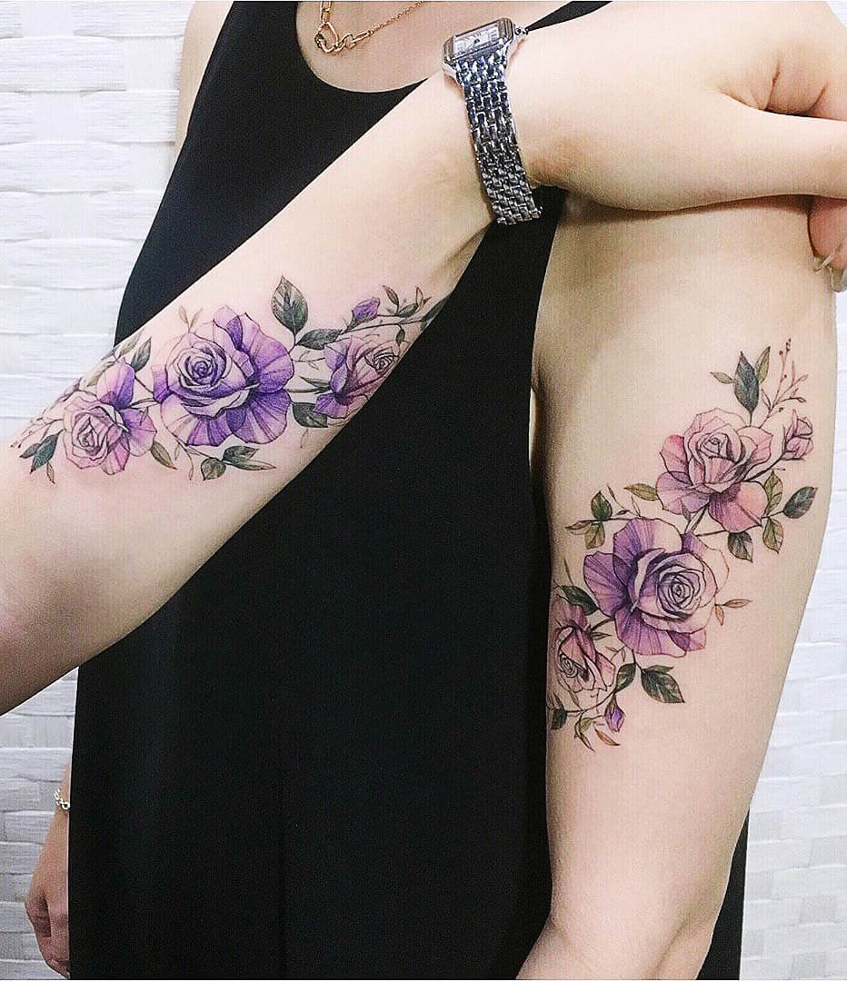 45+ Stunning Watercolor Tattoo Ideas for Women