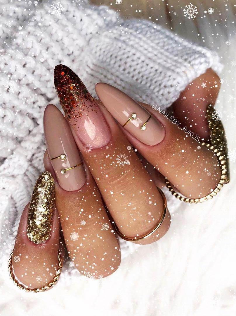 21+ Best Winter nail Design Ideas 2021