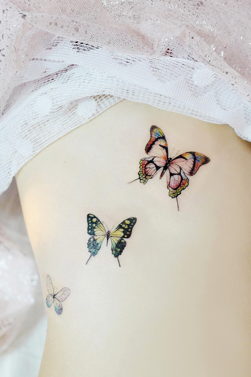 21+ Trendy Butterfly Tattoo Designs to Inspire Your Next Ink