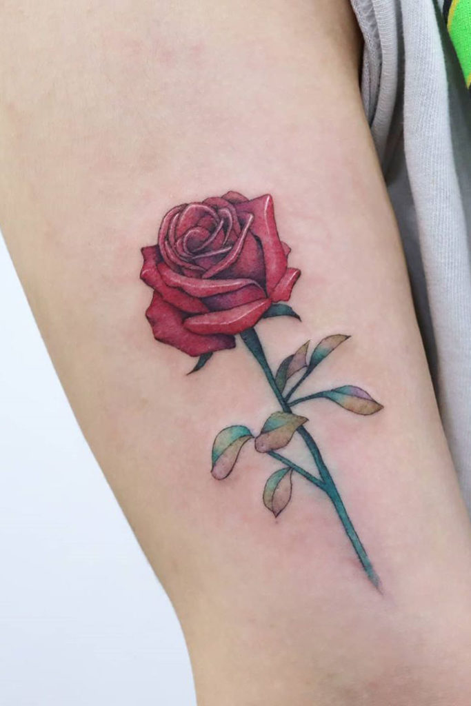 23+ Beautyful Rose Tattoo Designs