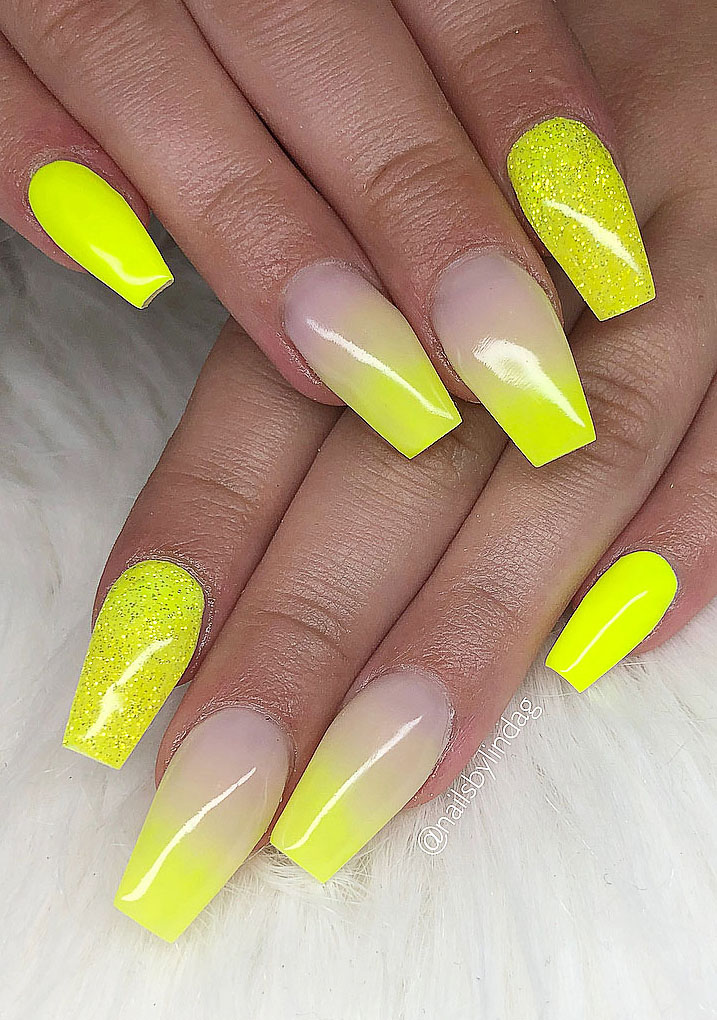 17 Neon Nails Art Designs That Are Perfect for Summer 2020