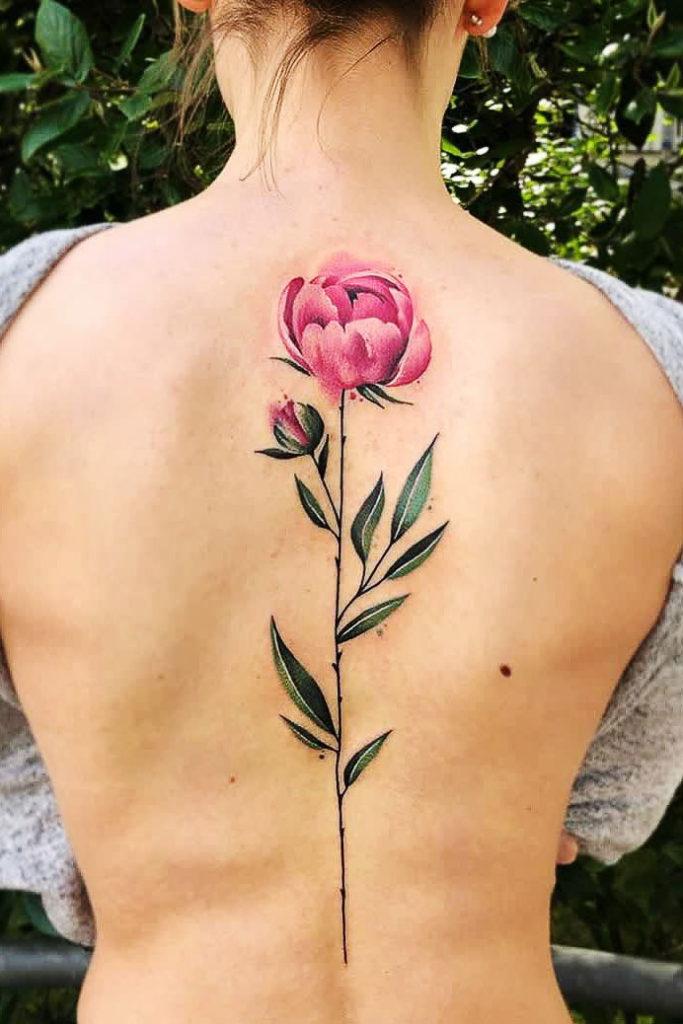 31+ The most Beautiful Flower tattoo designs
